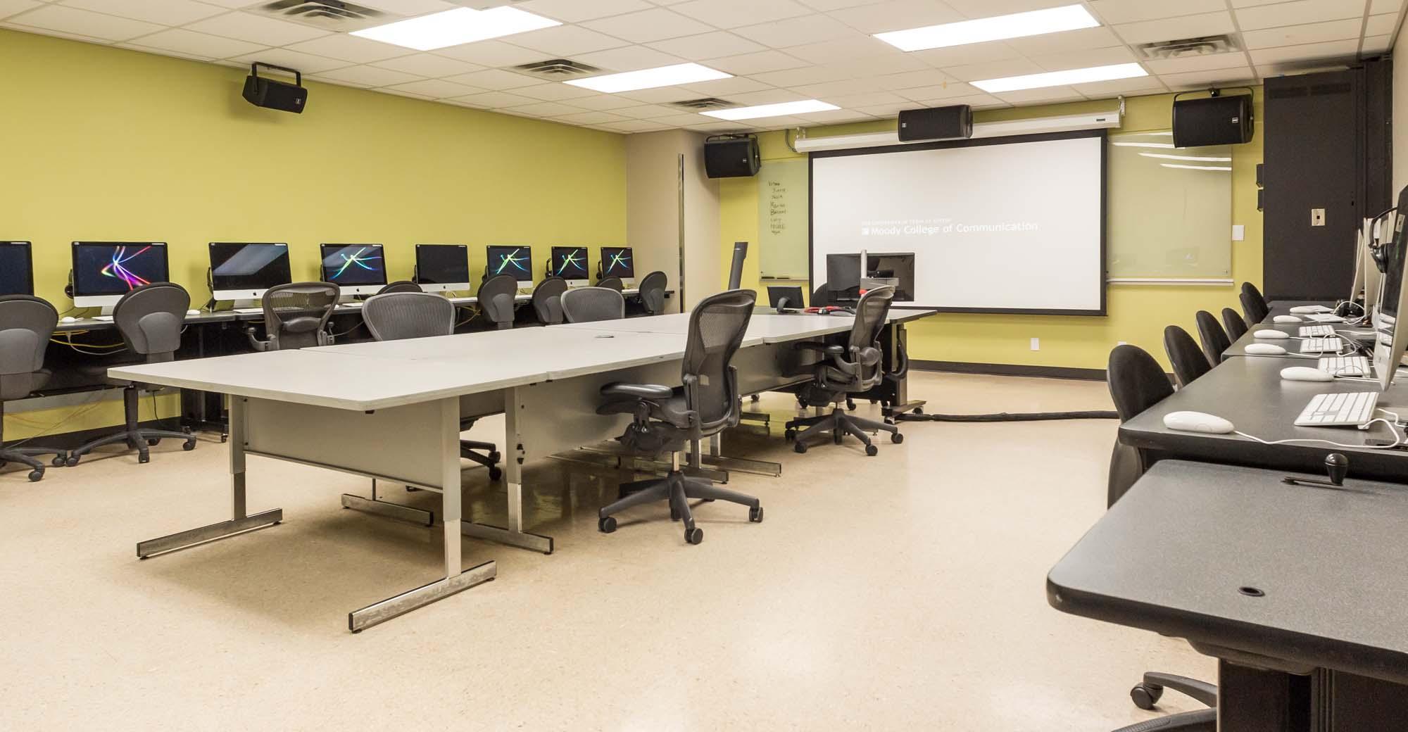 CMA 4.150 - Computer Classroom | Moody College of ... College Computer Classroom